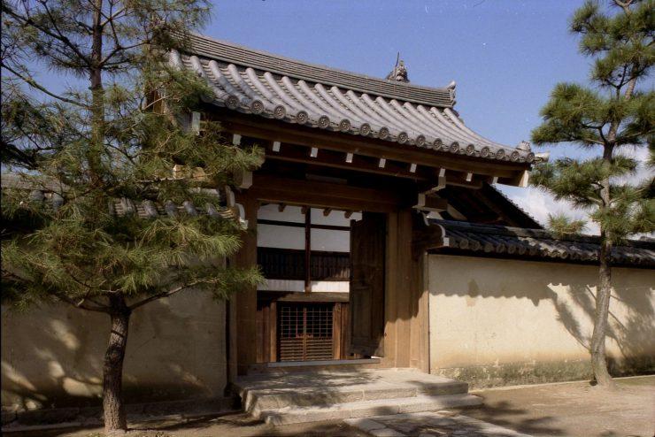 大徳寺養徳院 総門 新築工事