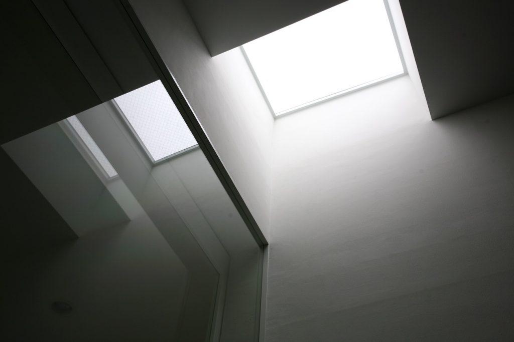 熱海別邸「木空海」天窓の灯り