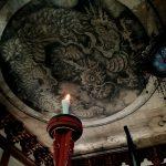 大徳寺 法堂 狩野探幽 雲龍図「鳴き龍」