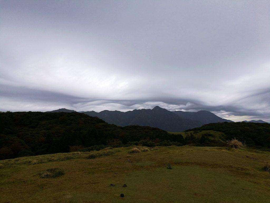 入道ヶ岳山頂付近