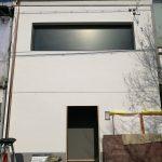 祇園寿司店改装工事 足場が取れました