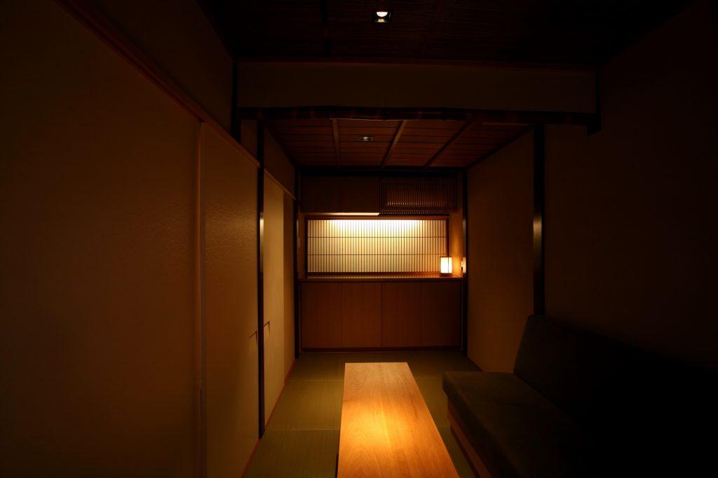 祇園東 中勇さんの2階にある個室バースペース改築工事
