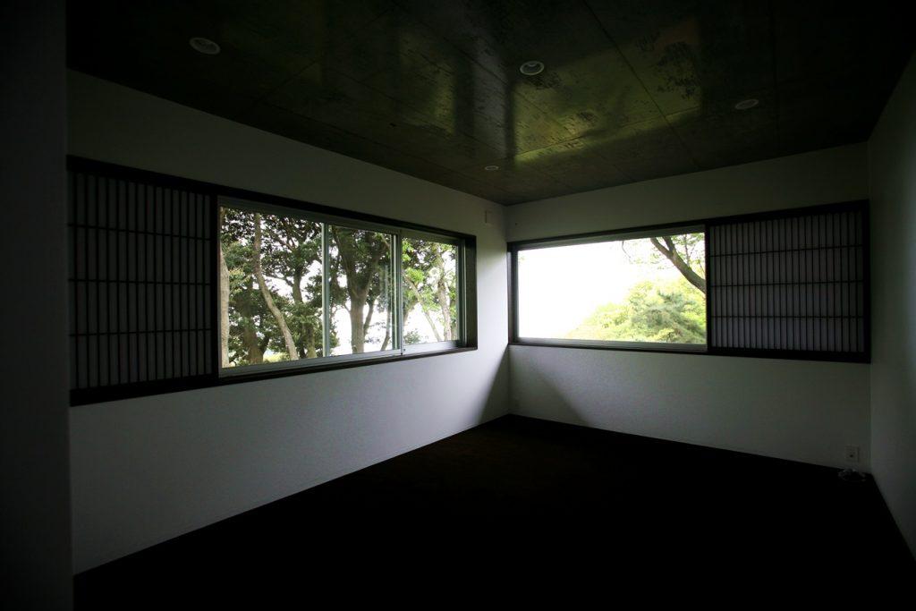 熱海別邸「木海空」寝室