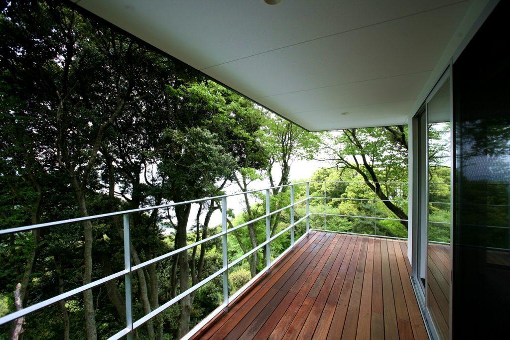 熱海別邸「木空海」バルコニー