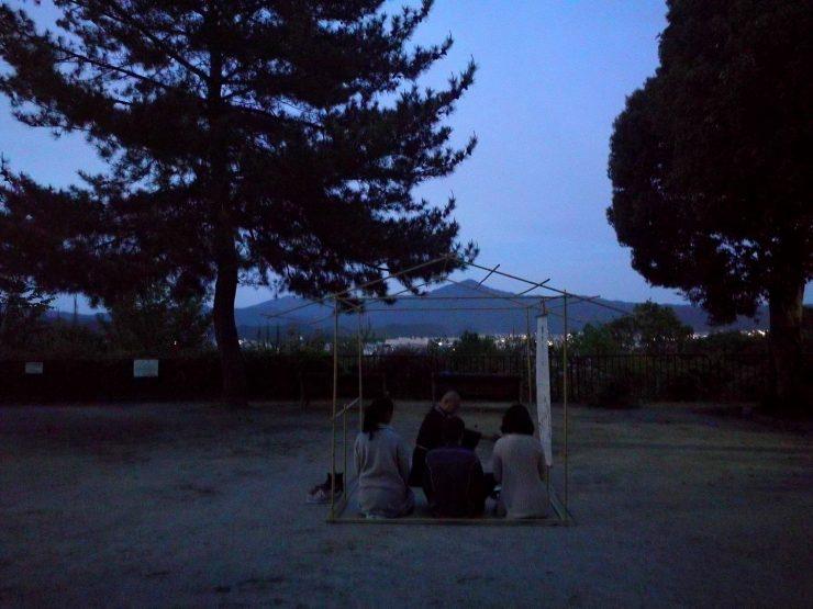 船岡山茶会