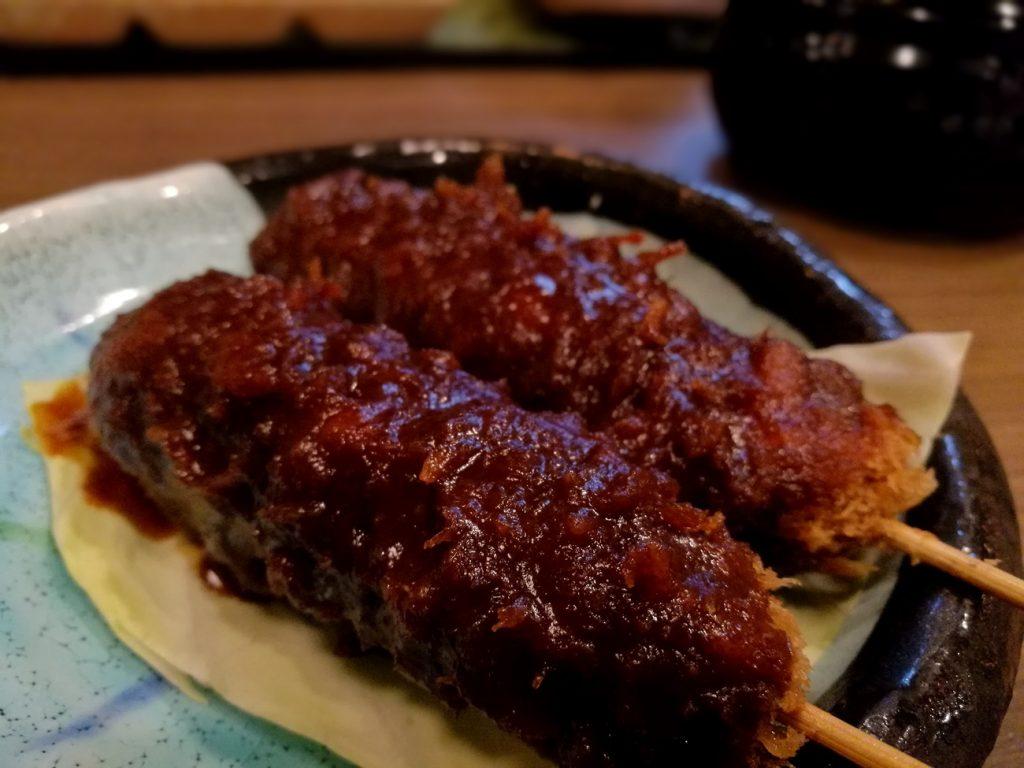 串カツ味噌