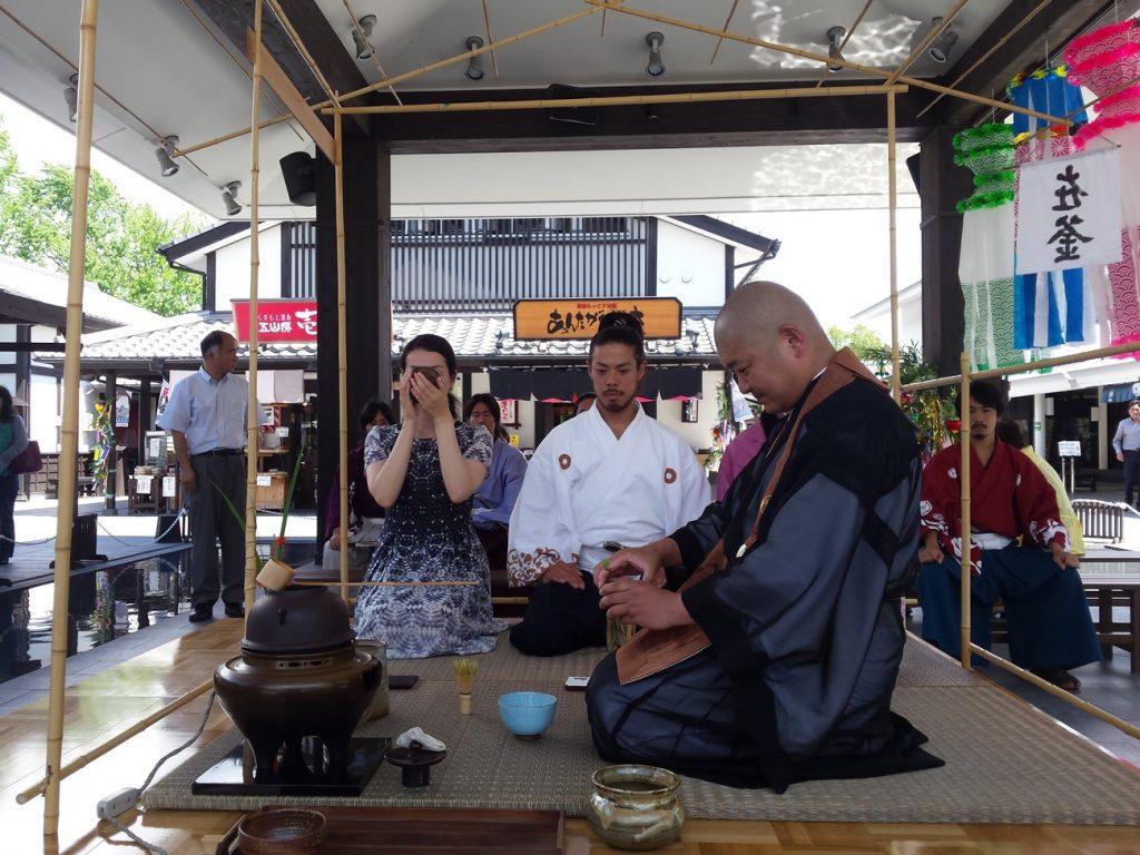 熊本地震復興チャリティー茶会
