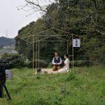 宇治茶の茶畑でお茶会 アル・アラビーヤTV収録 2017年4月 京都府和束町