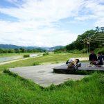 鴨川茶会をTV撮影 2015年7月 京都