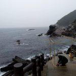 日本神話の聖地、オノコロ島で雨中茶会