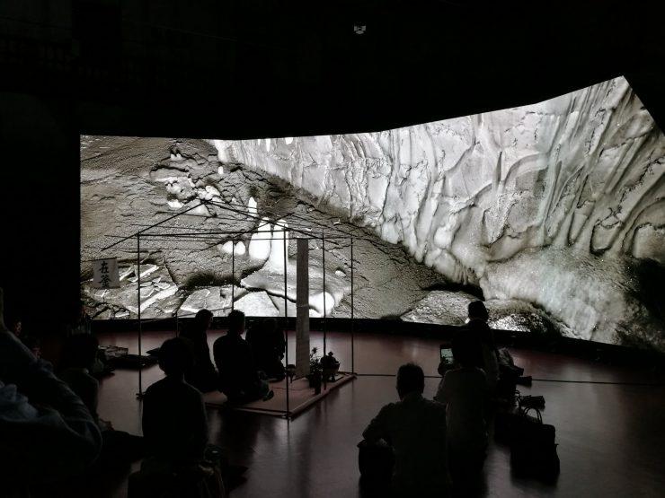 KYOTOGRAPHIE2017インスタレーション「ショーヴェ洞窟茶会」 2017年5月 京都市文化博物館