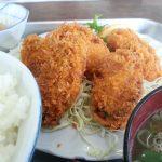 牡蠣フライ定食 伊勢・まんぷく食堂(板橋食堂)