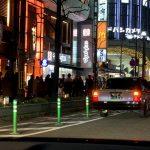京都駅前京都タワー下 タクシー客待ち