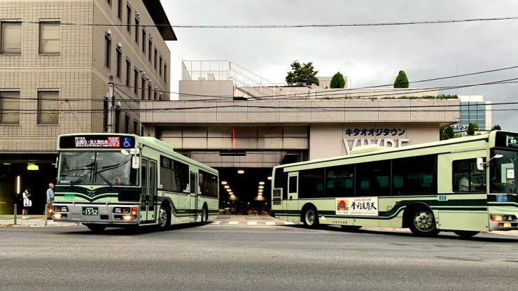 京都市バス 北大路バスターミナル