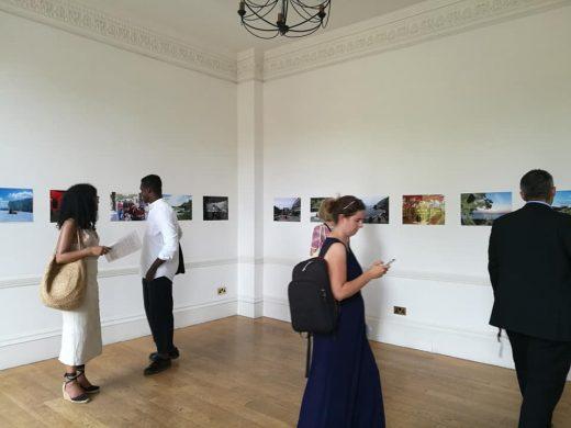 """Kina photograph"" Japan House Gallery in london"