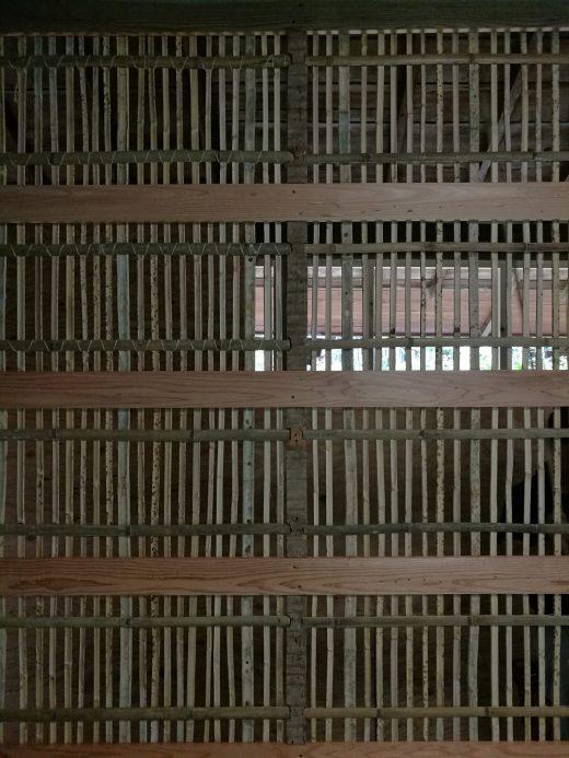 竹小舞下地壁