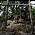 御上神社 奥宮 三上山山頂 登山