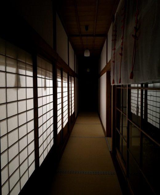 神社の通路