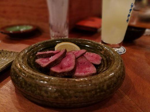 目黒シナトラ 牛タン
