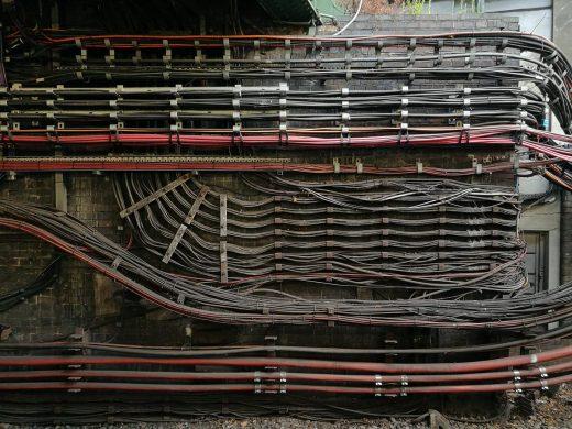 ロンドンの地下鉄配線