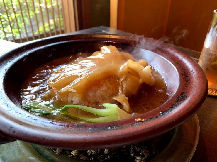 白碗竹筷樓 祇園 ふかひれ飯