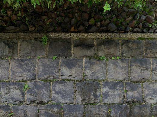 祇園石塀小路の石垣