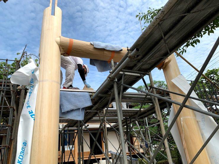 京都嵐山 西光院 山門新築工事